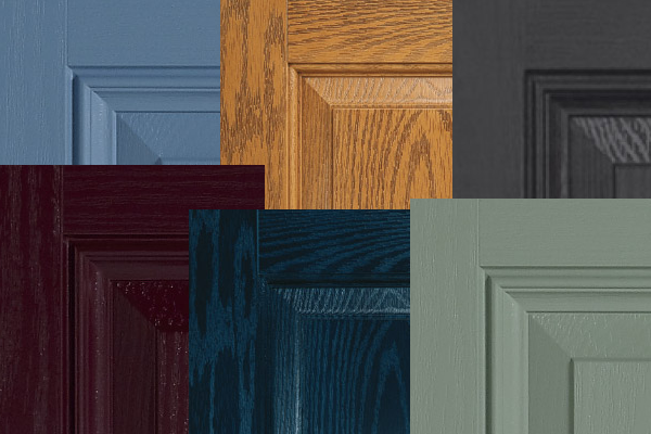 Door and frame colours