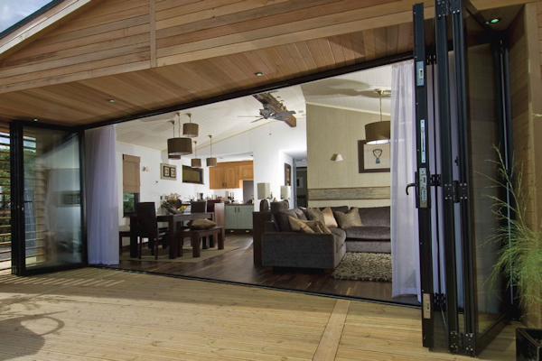 Bring the outside in with bifold doors
