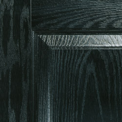Composite door colour black