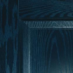 Composite door colour blue