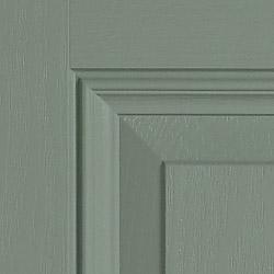 Composite door colour Chartwell green