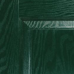 Composite door colour green