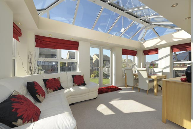 Living room conservatory