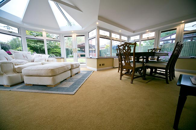 Living roof conservatory