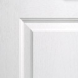 Composite door colour white