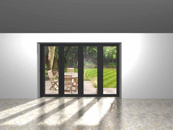 4 panel bi fold door