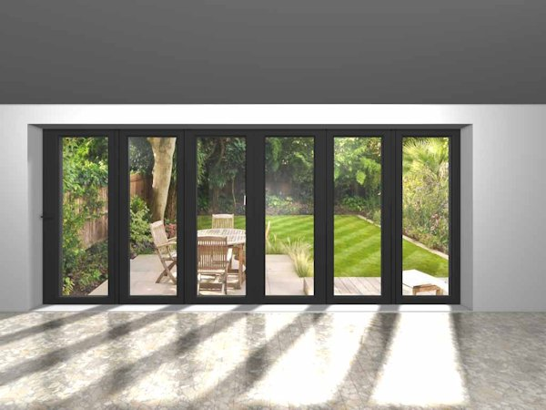 6 panel bi fold door