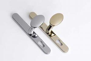 Pad door handles