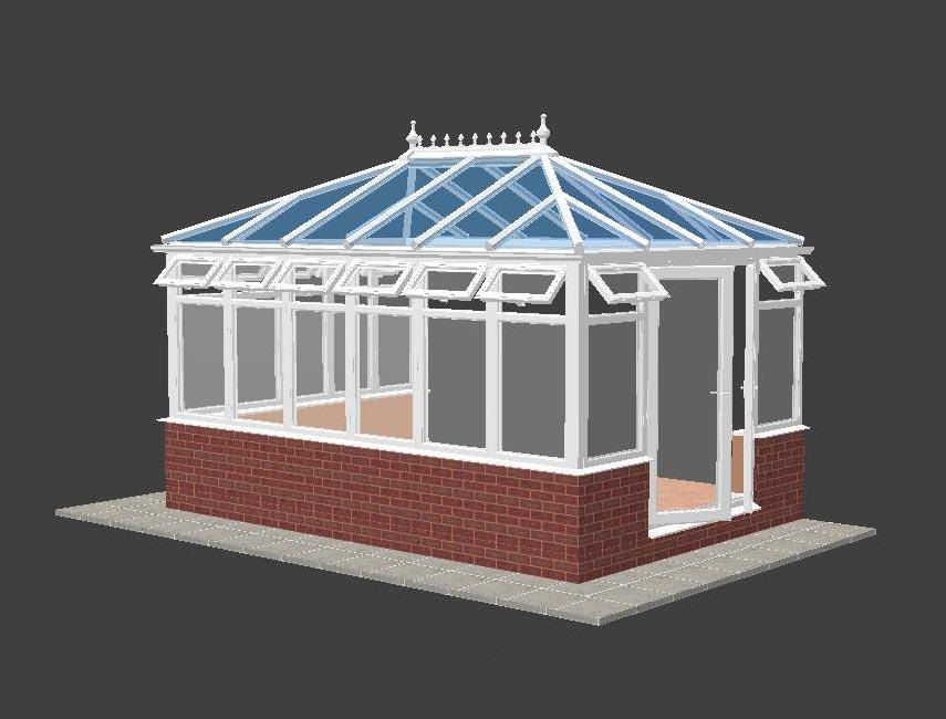 lantern conservatory plan