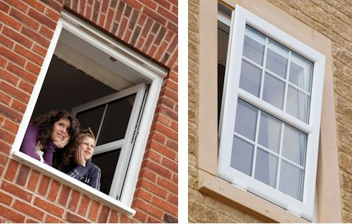 Different ways of opening the window