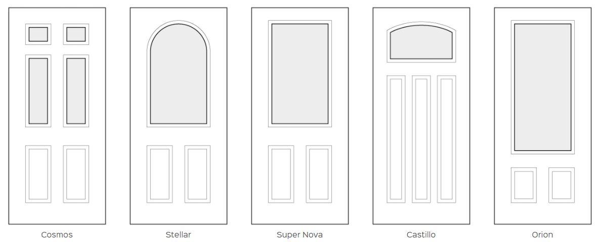 replacement composite doors